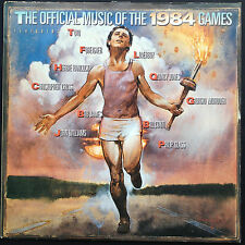 Los Angeles Olympics LP [OFFICIAL MUSIC OF THE 1984 GAMES] Giorgio Moroder Toto