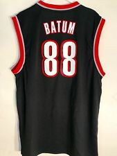 Adidas NBA Jersey Portland  Trailblazers Nicolas Batum Black sz L