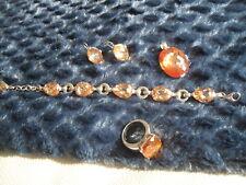 Schmuck Set von Giorgio Martello Milano Ring, Ohringe & Armband und Anhänger