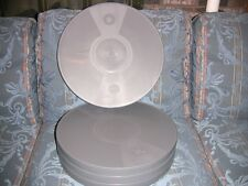 FOUR- 2000ft (2300FT) 16mm Plastic CANS - NEW ARCHIVAL