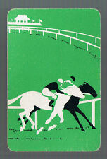 Playing Swap Cards 1 GENUINE VINT  U.S.  HORSES FOR COURSES RACE HORSES  #162