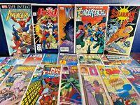 20 Marvel Comic 1ST ISSUES Punisher AVENGERS 2099 Hulk WOLVERINE 1 Appearance VF