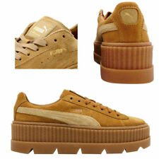 Puma Fenty Rihanna Cleated Creeper Lace Up Suede Womens Trainers 366268 02