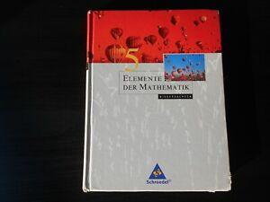 Elemente der Mathematik 5, Lehrbuch Mathe 5. Klasse Gymnasium, guter Zust.