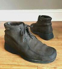 Mephisto Womens Brown Leather Chukka Lace Up Ankle Boots US 8.5 EURO 6