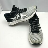 Asics Fuzex Lyte 2 T769N Women's Athletic Running Shoes White Black Size 9.5