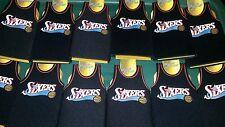 Lot of 12 Philadelphia Sixers 76ers NBA jersey bottle Koozies FREE SHIPPING