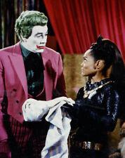 Batman UNSIGNED photograph - N737 - Cesar Romero and Eartha Kitt - NEW IMAGE!!!