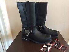 Milwaukee Motorcycle Clothing - Men's Boots Classic Harness Size 8.5 D NIB NWT