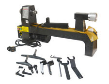 A Wood Turning Lathe Benchtop Variable Speed Woodturning Tool Centering Drilling