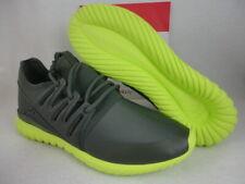 Adidas Tubular Radial, Shadow Green / Neon, S75394, Size 13