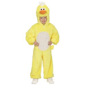 KINDER ENTEN PLÜSCHKOSTÜM / Karneval Kleinkinder Jungen Mädchen Ostern Kostüm