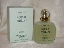 Blue Up Aqua Di Bella Women's Eau de Parfum Spray. 100 ml 3.3 fl. oz. New.