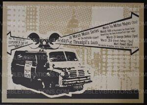 Roky Erickson Concert Poster Threadgills Austin