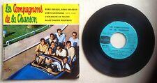 Les Compagnons de la chanson Disque Super 45T vinyl 4 titres Verte campagne vint