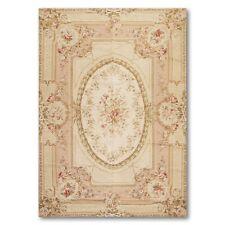 6' x 9' Asmara Hand woven 100% Wool French Needlepoint Oriental Area rug 6x9