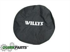 2007-2020 Jeep Wrangler Willys Spare Tire Cover  MOPAR GENUINE OEM BRAND NEW