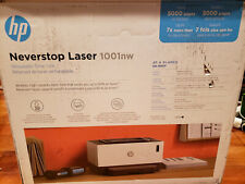 HP Neverstop 1001nw (5HG80A) Wireless B&W Laser Printer FAST FREE SHIPPING