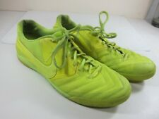 Nike 5 Lunar Gato Indoor Soccer Mens Size 13 Neon Green/Yellow Shoe's 415124-770