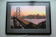San Francisco Skyline Wandbild Beleuchtung Leuchtbild 78x68x4cm