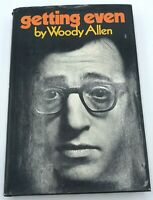 Getting Even by Woody Allen 1st Edition 1971 Hardcover Dust Jacket