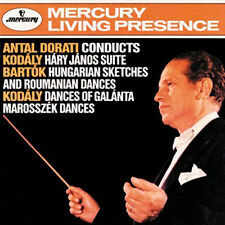 Antal Dorati conducts Kodaly & Carpazi/CD (NUOVO, CONFEZIONE ORIGINALE) Mercury LIVING presence