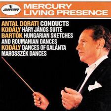 Antal Dorati conducts Kodály & Bartók / CD (neu, OVP) Mercury Living Presence