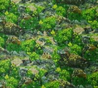 Our National Parks Ivy Lane BTY Quilting Treasures Flower Grass Rocky Hillside
