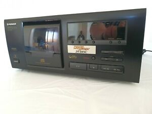 Pioneer PD-F605 25 Disc CD Player Seperate Fully Working - Tested