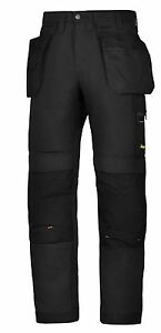 SNICKERS 6201 AllroundWork WORK TROUSER BLACK NAVY GREY *FREE DELIVERY* trousers
