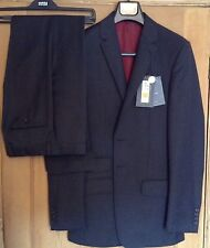 "M&S mens suit, luxury pure wool, slim fit, Jacket: 36"", Trousers: W30"" L31"" BNWT"