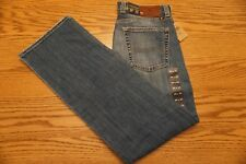 NWT MENS LUCKY BRAND JEANS 361 Size 29 x 32 Vintage Straight Low Rise Distressed