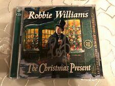 Robbie Williams - The Christmas Present Signed Signiert Autogramm ORIGINAL RAR
