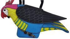 Novelty parrot shaped ladies handbag / shoulder bag