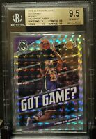 2019-20 Panini Mosaic Got Game Mosaic #7 Lebron James 9.5 Gem Mint