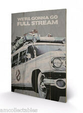 PYRAMID Estampe - Ghostbusters Ectomobile - 40x60 CM - Wood Mur Type Affiche