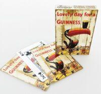 Guinness Toucan Temps Vane Ensemble De 52 Cartes à Jouer (Sg ) + Gratuit Cadeau