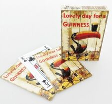 Guinness Toucan Weather Vane set of 52 playing cards (sg)