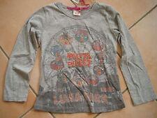 (c414) NOLITA POCKET Girls T-shirt leggera a-forma con ricamo & pressione gr.98