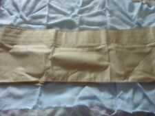 marks & spencer beige curtain valance new