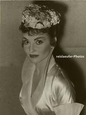 Orig. Photo, Diane Cilento, Weltpremiere Zuleika, 1957
