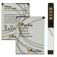 HTC Desire 600 Batterie de rechange battery (bo47100) 2000mah Li-Ion NOUVEAU p. store