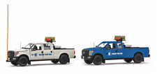 IMC Models 20-1042 - Sarens 2x Ford F250 Pickup Trucks Escort Set - Sword - 1:50