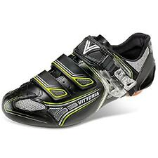 vittoria black cycling shoes size 46