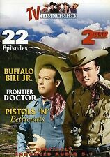 TV Classic Westerns (NEW 2DVD SET)BUFFALO BILL JR,FRONTIER DOCTOR,PISTOLS & PETT