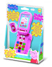 Peppa Pig Flip Learn Phone Electronic Play Toy Kids Telephone Call Friends Skill