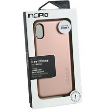 iPhone X Incipio Ultra Thin Feather Cover Case Iridescent Rose Gold