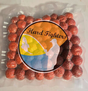 Carp & Catfish Bait 10 Oz Of Homemade Floating Raspberry Boilies By HardFighters