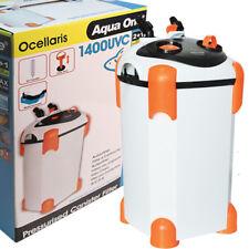 Aqua One Ocellaris External Aquarium Fish Canister Filter 1400UV 2 + 1 WARRANTY
