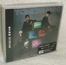 TOHOSHINKI SCREAM 2013 Taiwan Ltd CD+DVD+Card (DBSK TVXQ)
